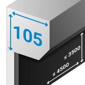 RitsScreen ZWS R105 Afgeschuind